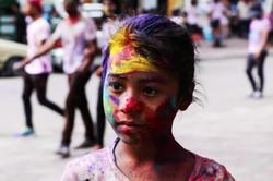 Holi Festival of Colours, Nepal