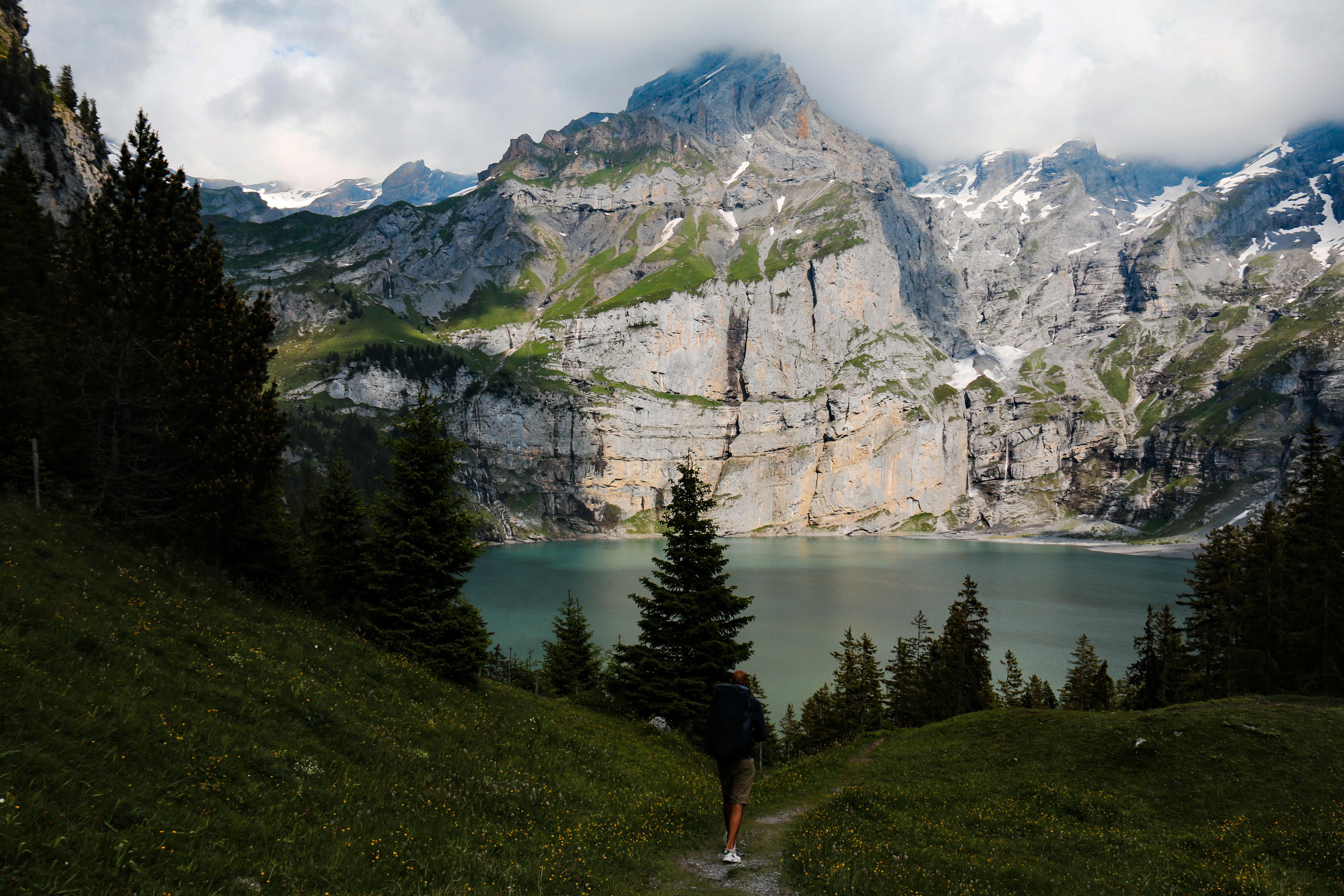 Oeschinen Lake, Switzerland