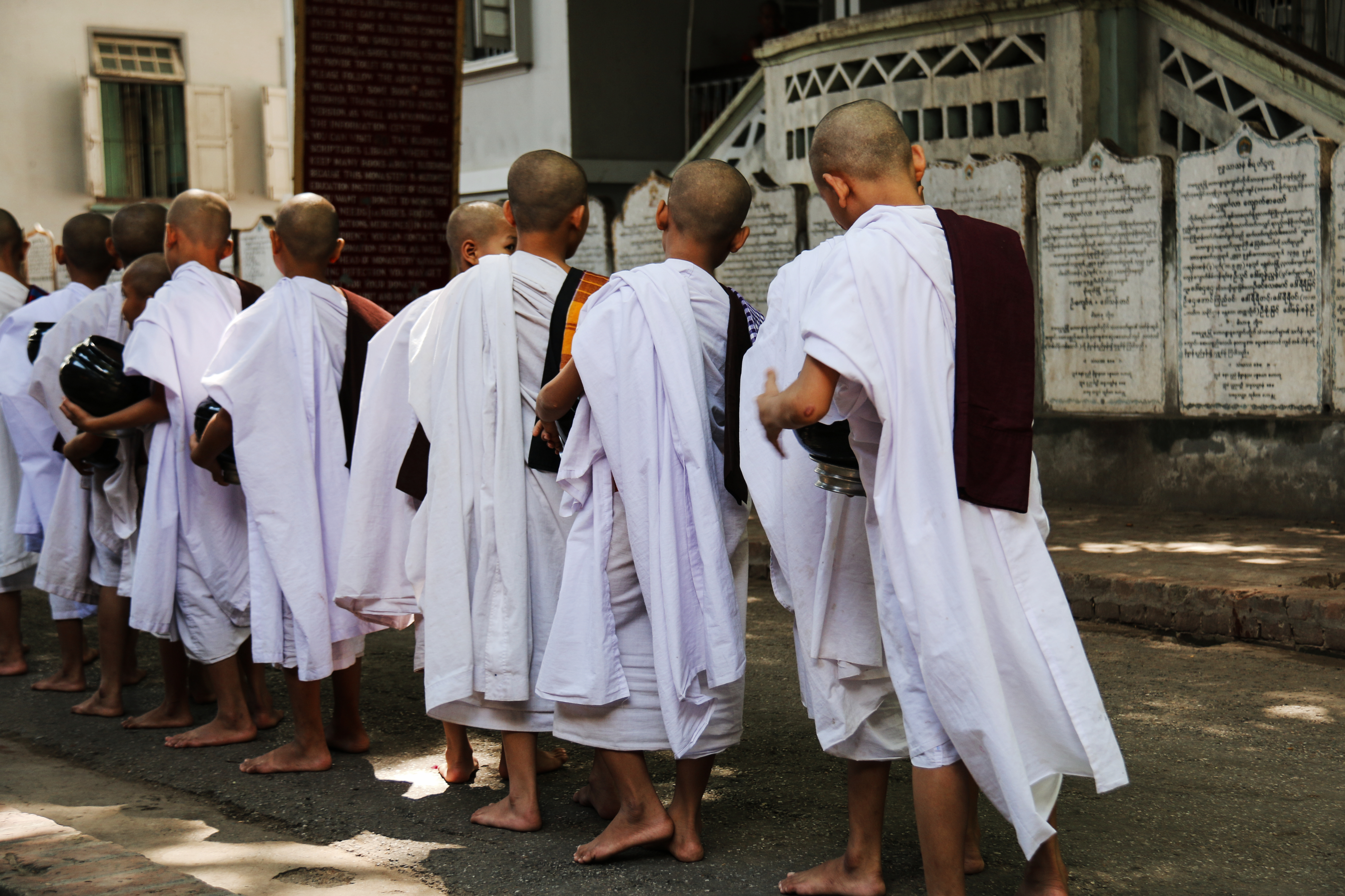 Burma Buddhist Monk School