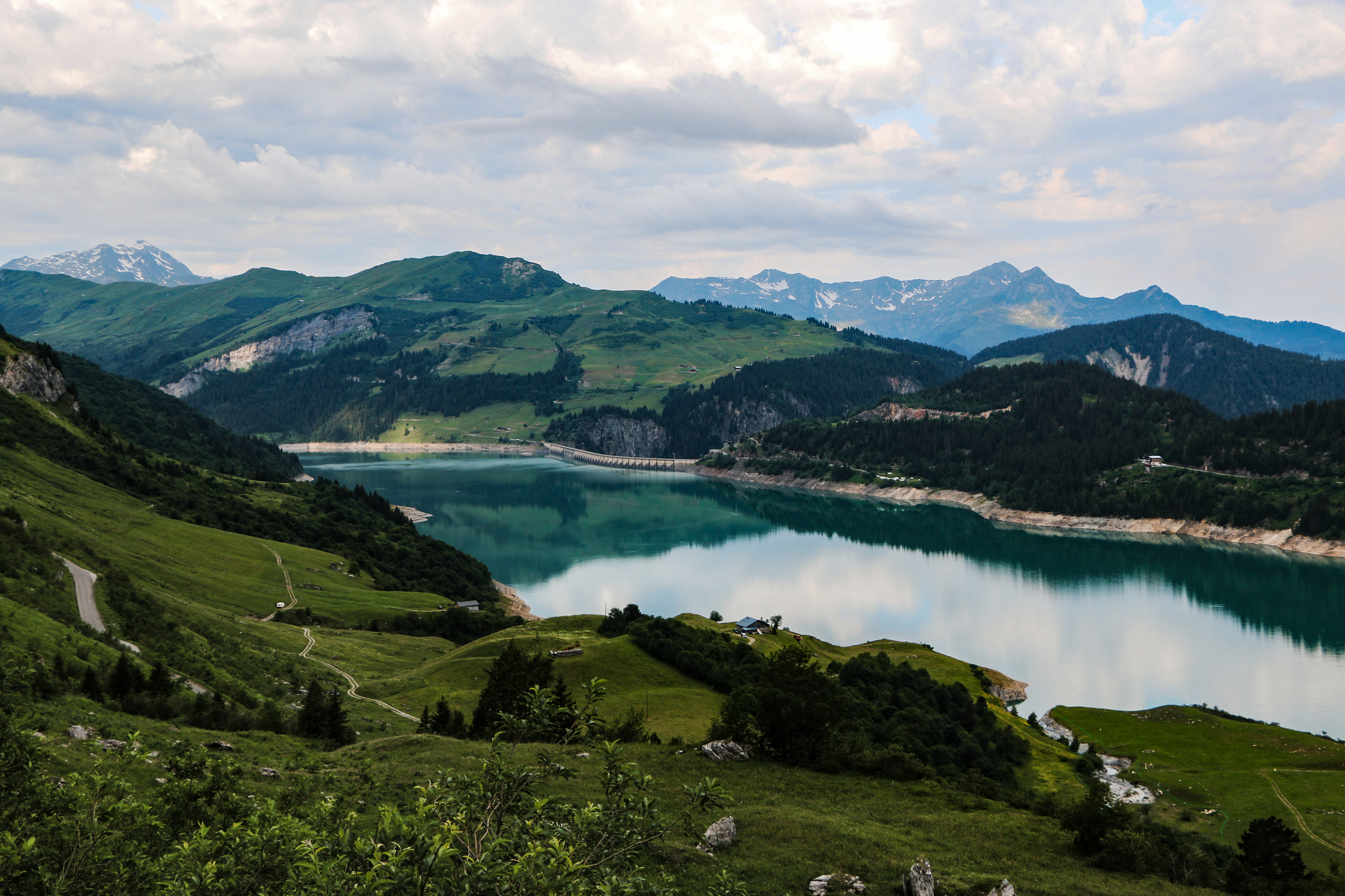 The Route des Grandes Alpes, France
