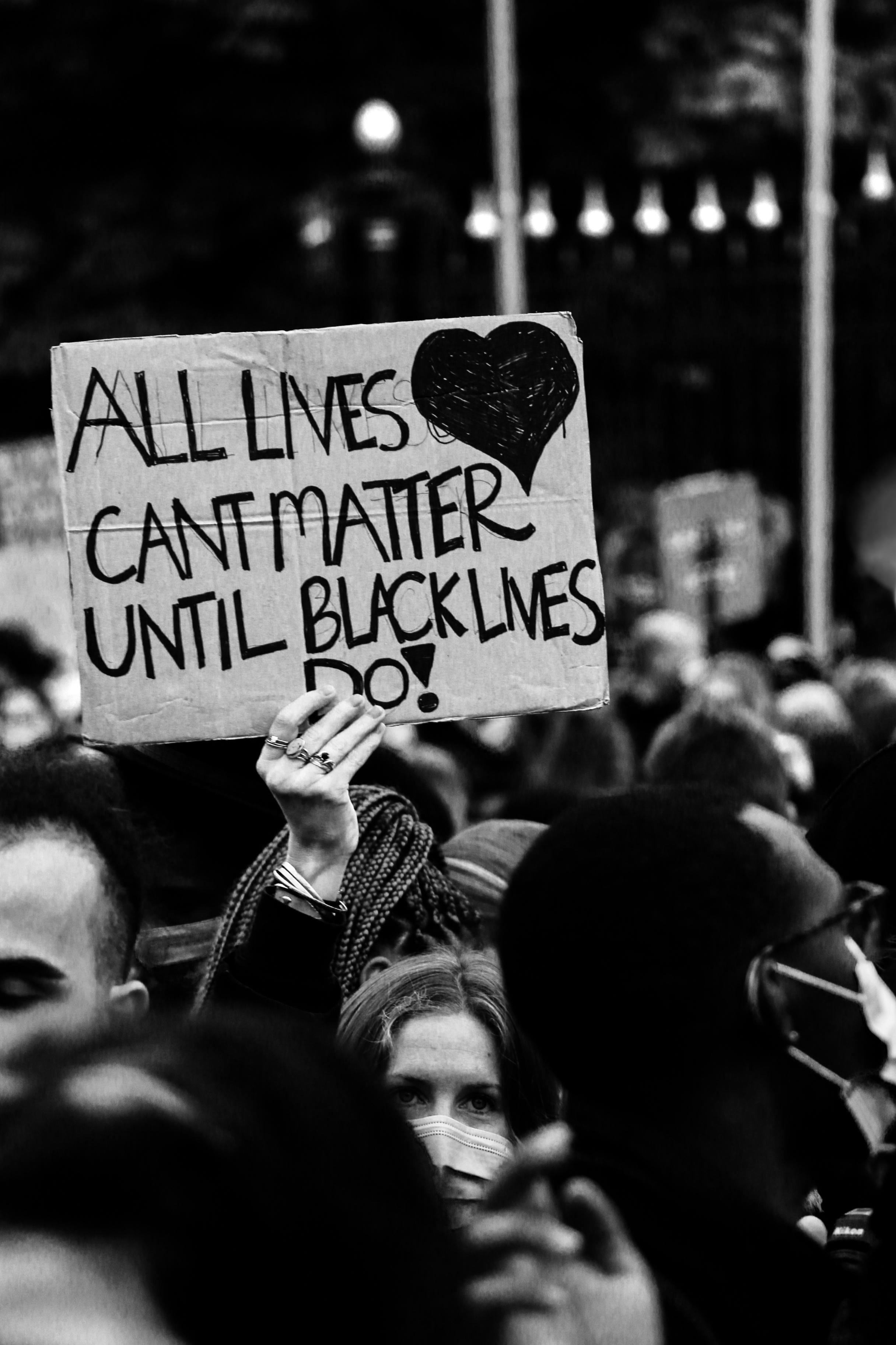BLM protest, Switzerland