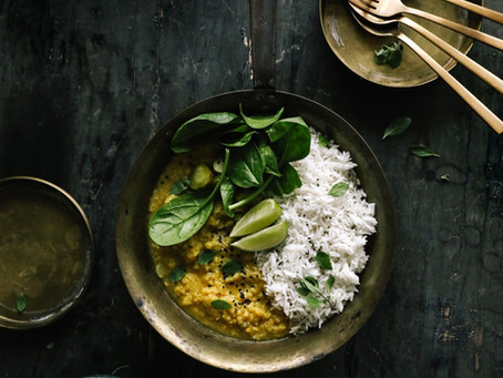 Rich & Flavourful Red Lentil Curry