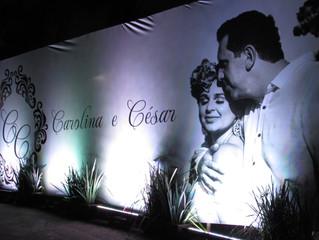 Casamento Carolina e César