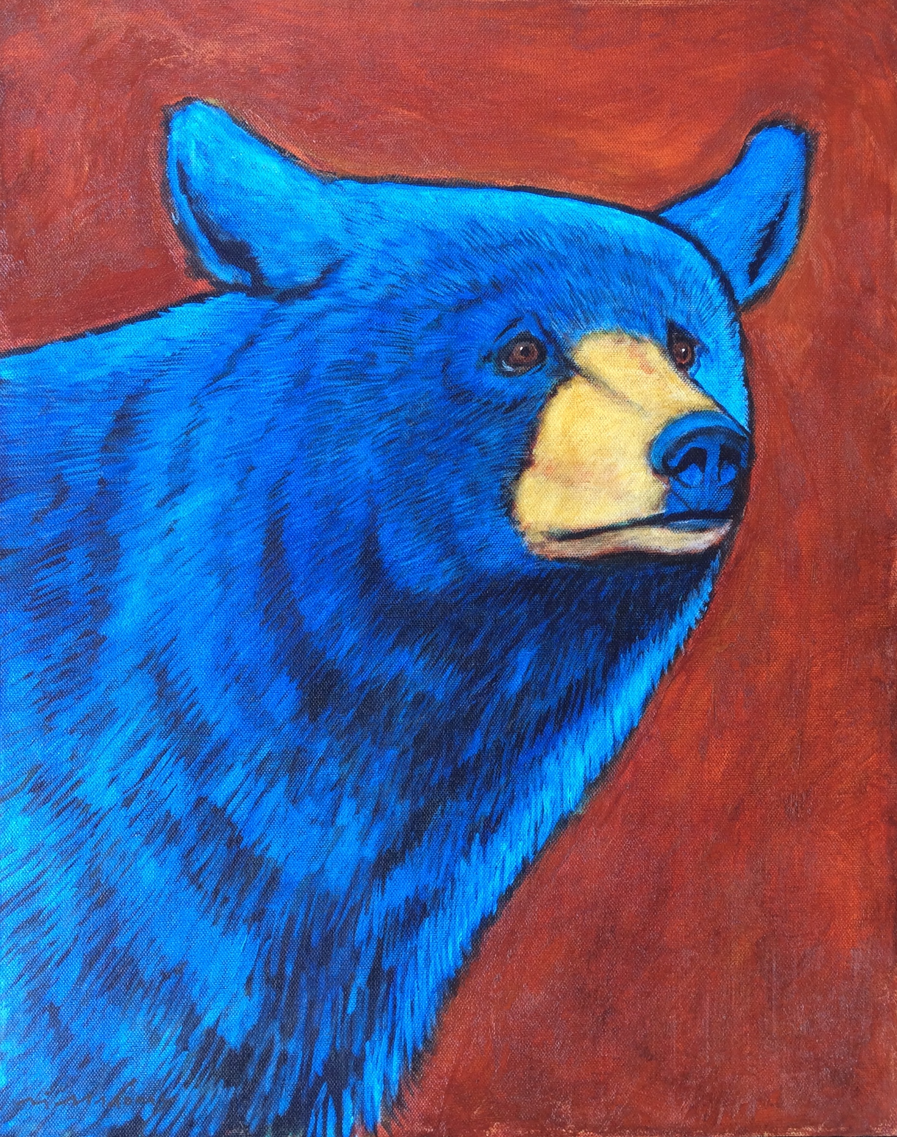 Beautiful Bear 20x16