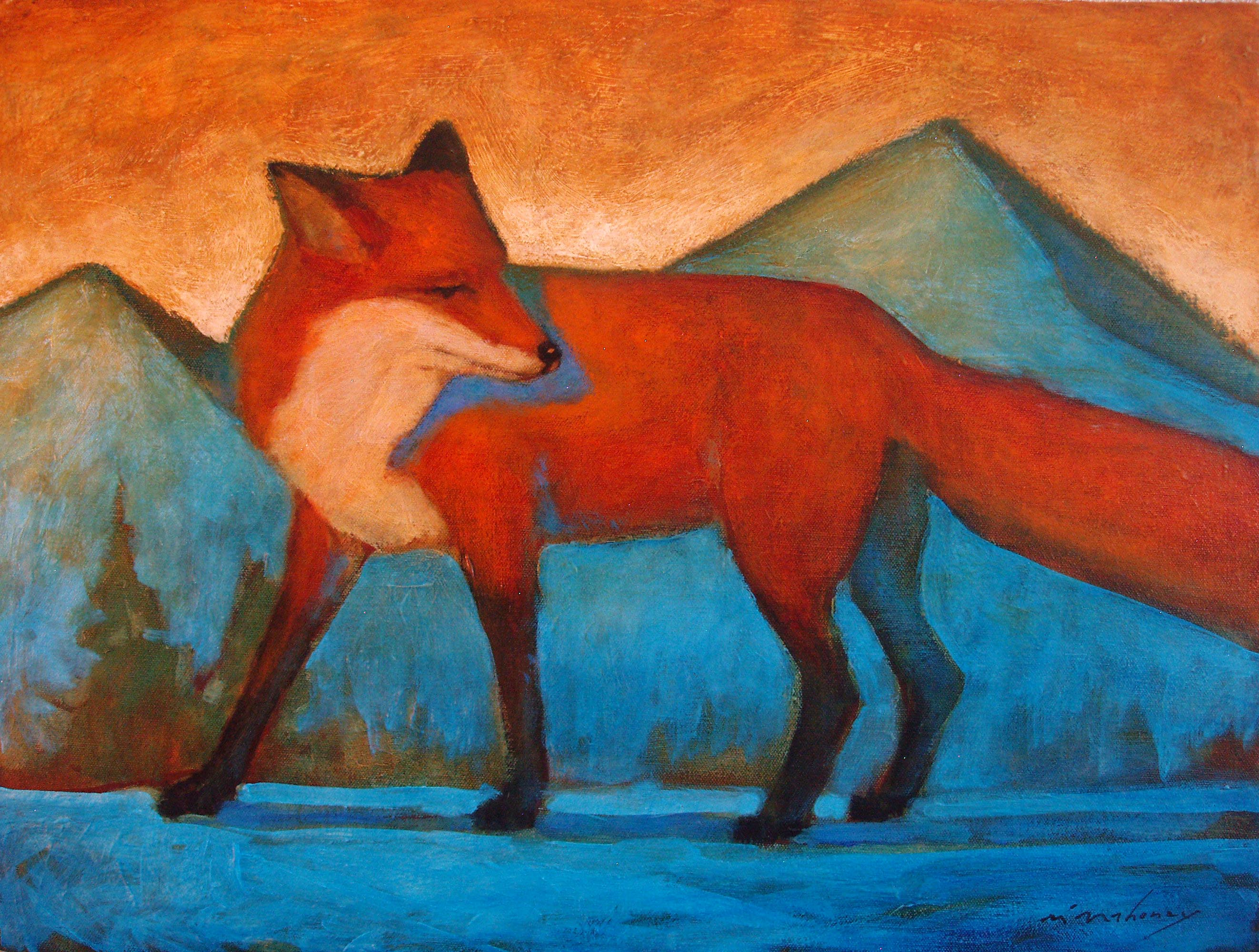 Mountain Fox 18x24.JPG