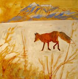 Crested Butte Fox 24x24.jpg