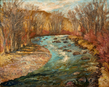 Early Spring River 24x30 Print.jpg