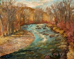 Early Spring River 24x30 Print.jpg