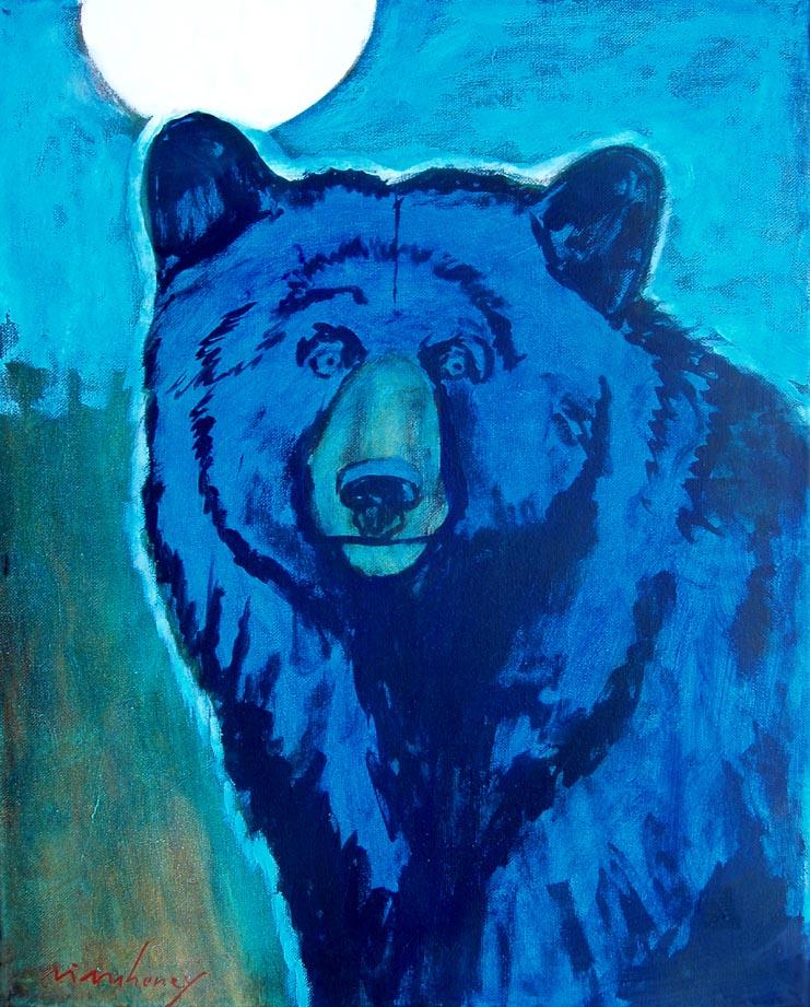 Moon Bear 20x16
