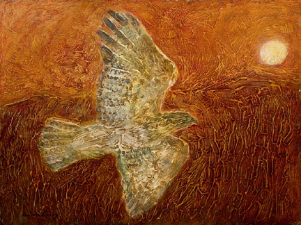 Hawk to the Sun 12x16.jpg
