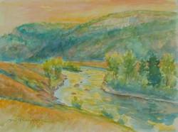 Boulder River Morning 15x20  WC.JPG