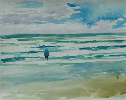Standing in Surf 16x20 WC.JPG