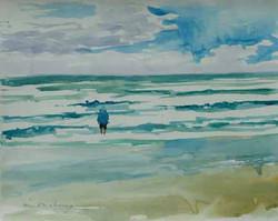 Standing in Surf 16x20 WC.JPG