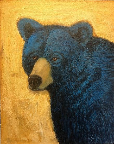 Bear Portrait 4  SOLD