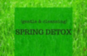 3 Day(gentle & cleansing) SPRING DETOX_e