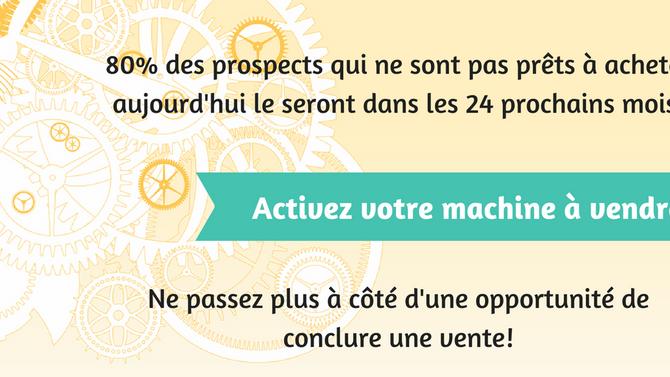 7 étapes pour mettre en place une véritable « machine à vendre » et ne jamais manquer de clients