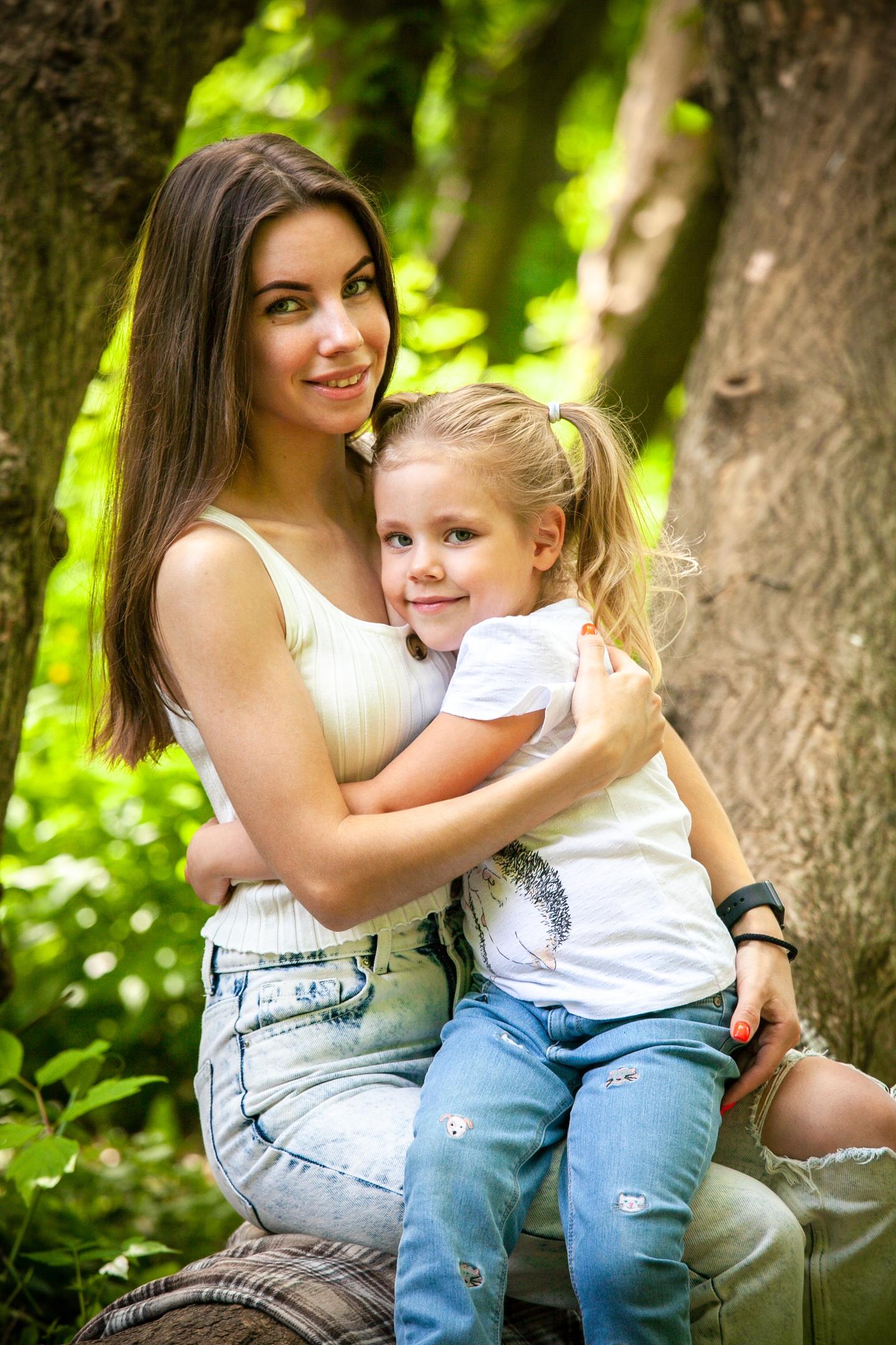 фотосессия мама дочка
