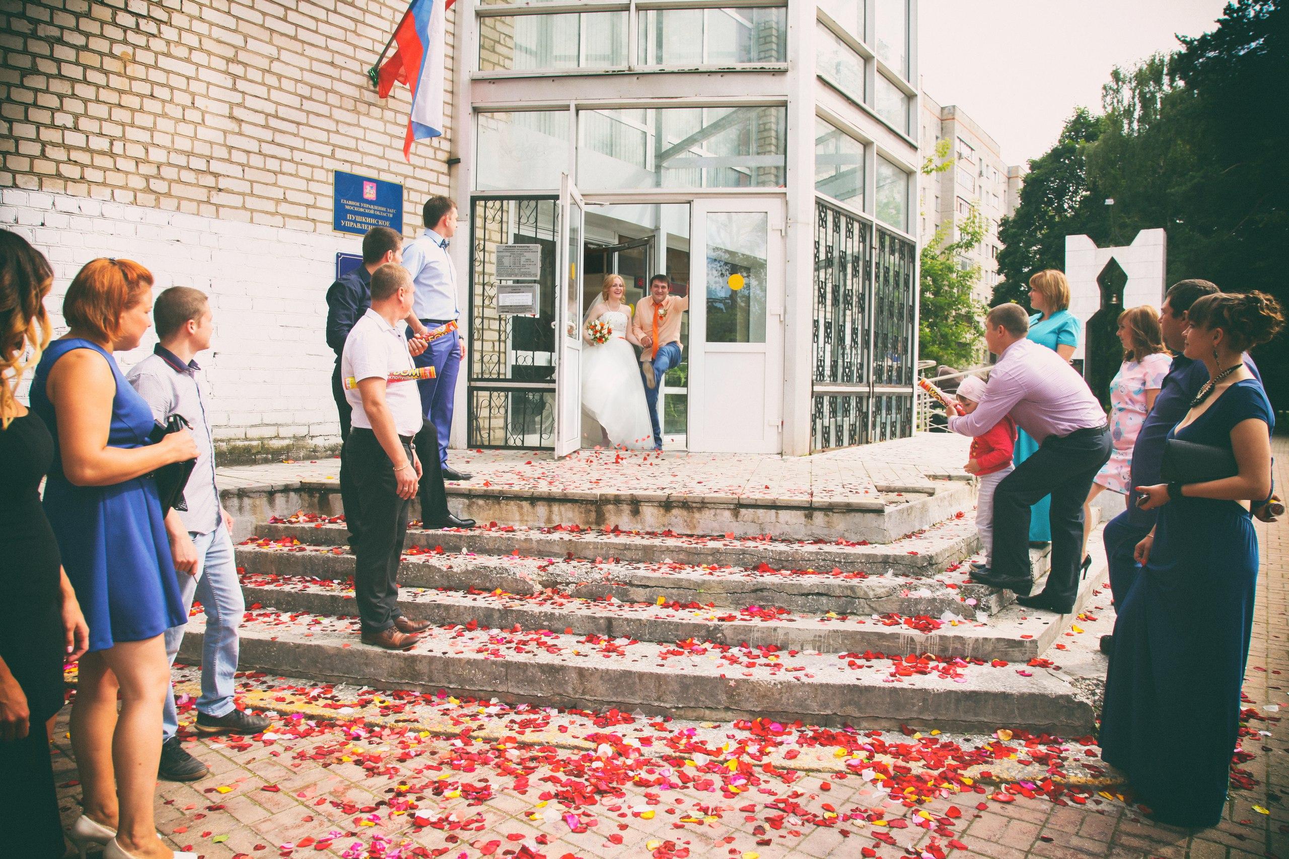 Свадебная съемка Пушкино
