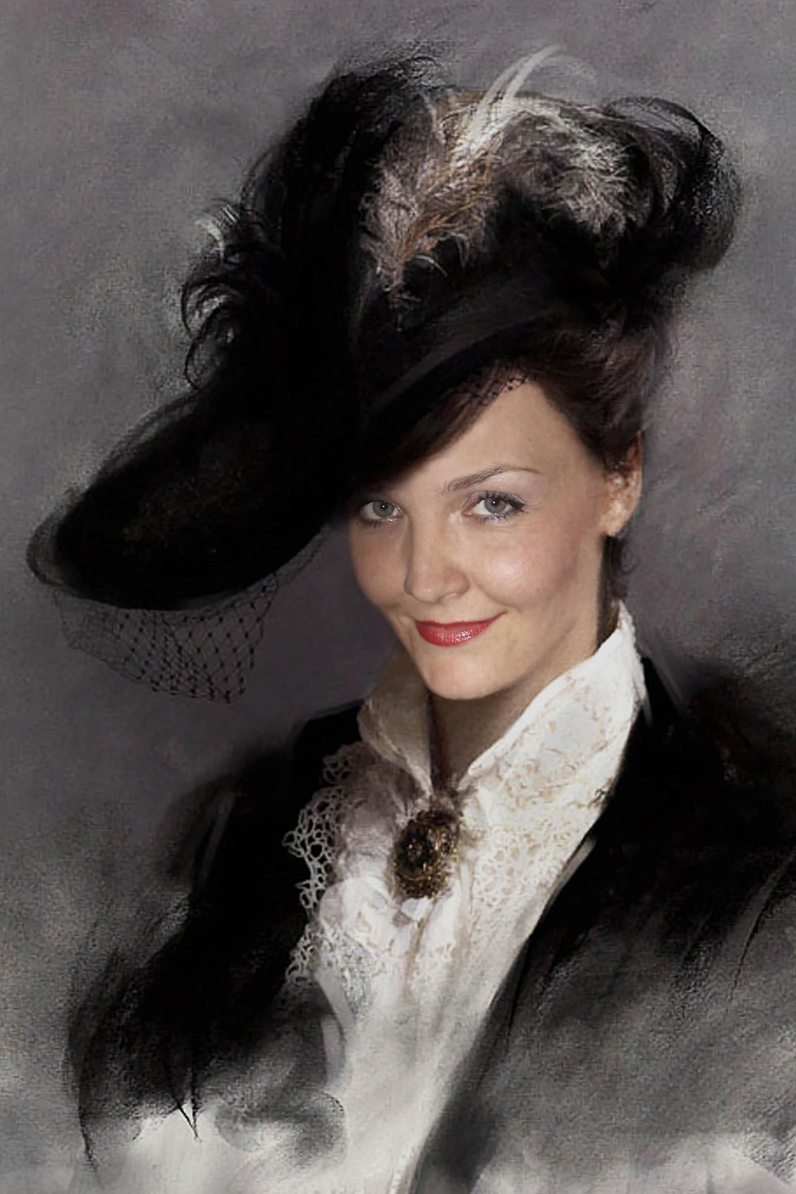 каталог фотомонтажа женские портреты вагоны еще