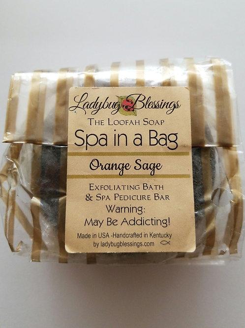 Orange Sage Loofah
