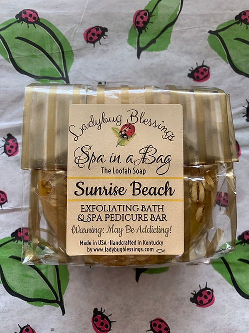 Sunrise Beach Loofah Soap