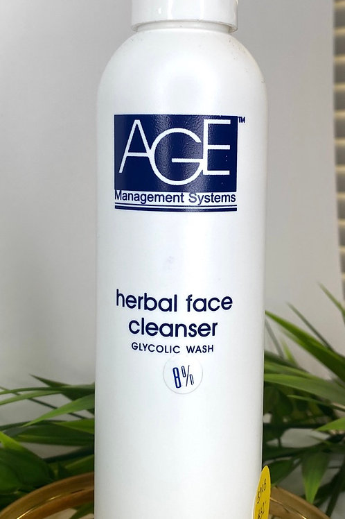 Glycolic 8% Herbal Face Wash