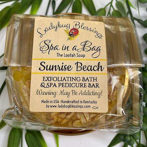Sunrise Beach Loofah Soap