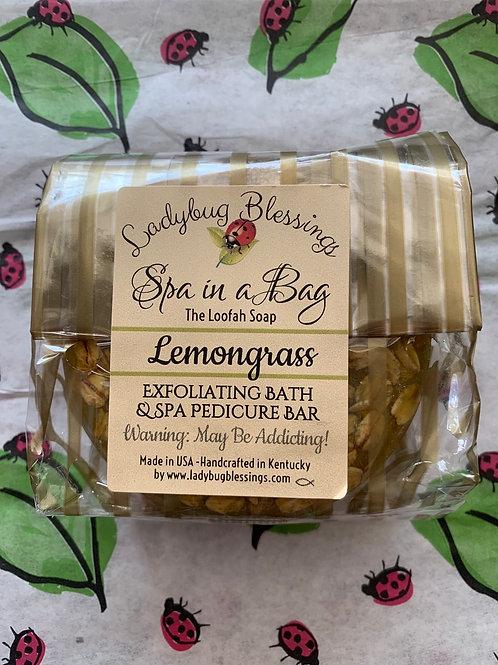 Lemongrass Loofah Soap