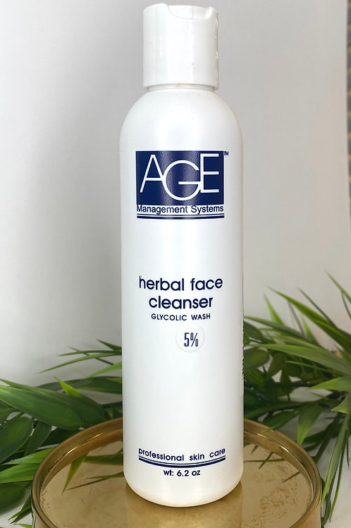 Glycolic 5% Herbal Face Wash