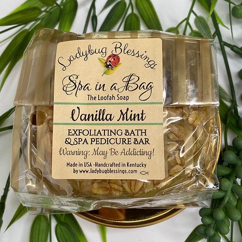 Vanilla Mint Loofah Soap