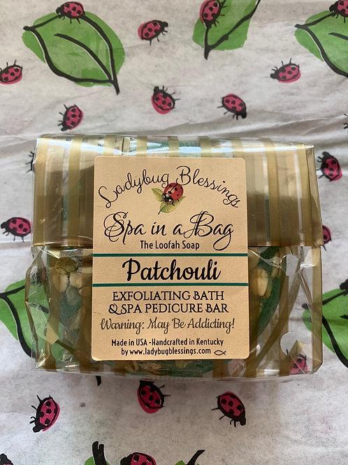 Patchouli Loofah Soap