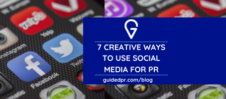 7 Creative Ways To Use Social Media For PR