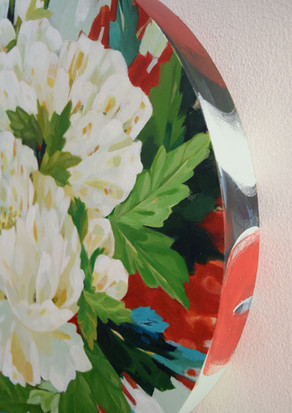 White Peonies detail