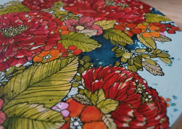 Vintage Flora (detail)