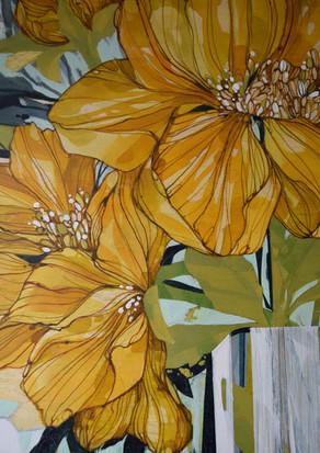 Yellow Bloom detail
