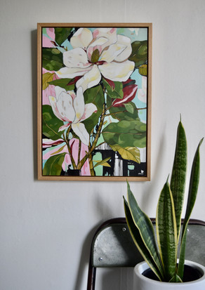 Magnolia Still Life   SOLD