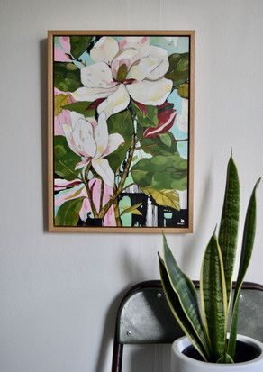 Magnolia Still Life   SOLD