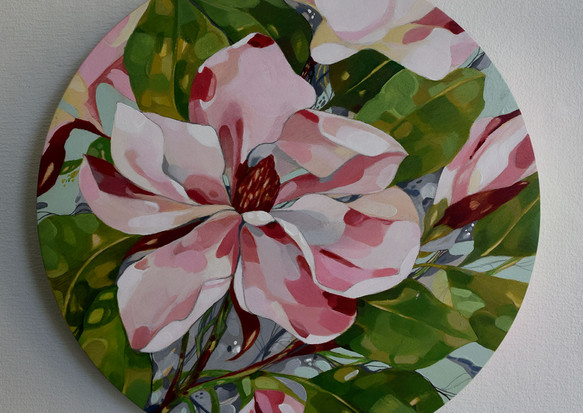 Magnolia study no.2   SOLD