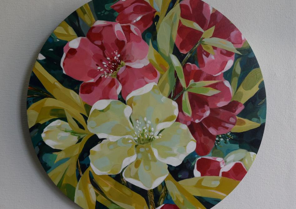 Blossom Round SOLD