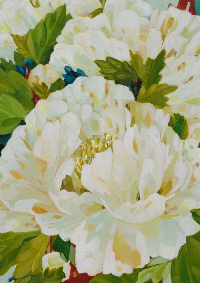 White Peonies (detail)