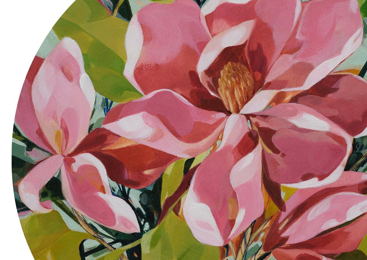 Pink Magnolia (detail)
