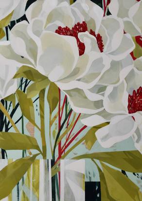 White Blooms detail