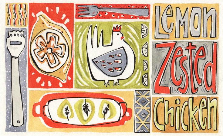 Lemon Zested Chicken