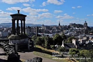 ♛愛丁堡黃昏攝影景點大公開(一) Calton Hill 卡爾頓山♛