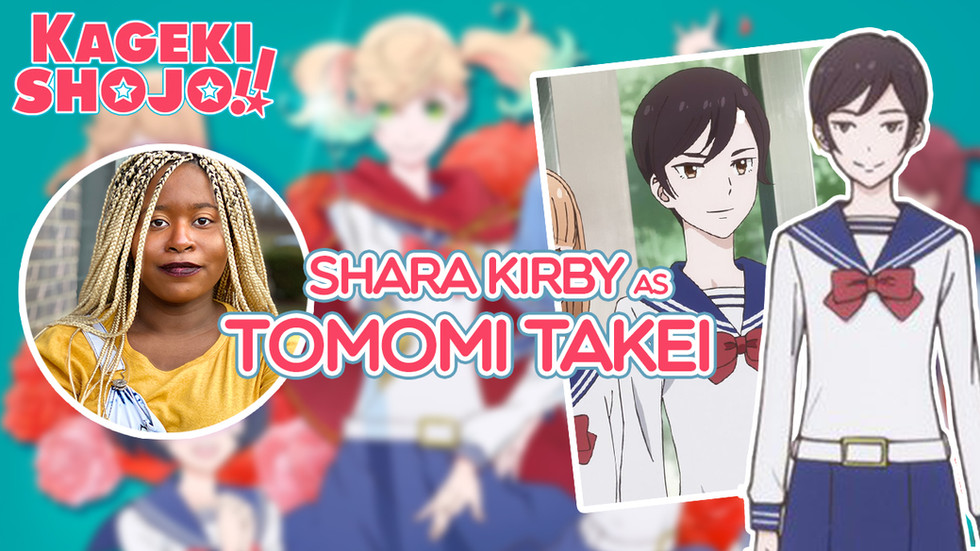 "Tomomi Takei in ""Kageki Shoujo"""