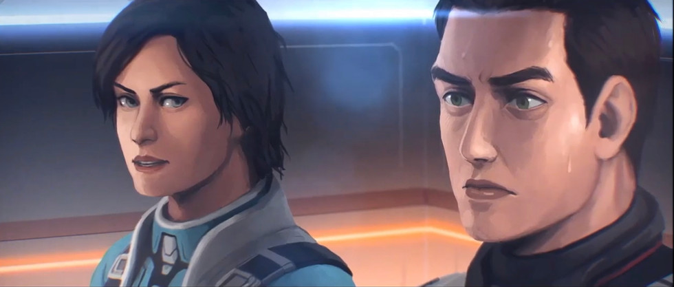 """Tammy in """"Everspace 2"""""""