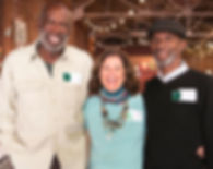 Joel Clark, Tisha Kenny and Lawrence Williams