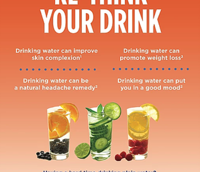 Re-think your Drink: Information about Hydration
