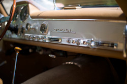 Detail of a 300SL Gulwing
