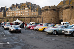 Before the race, in St Malo.